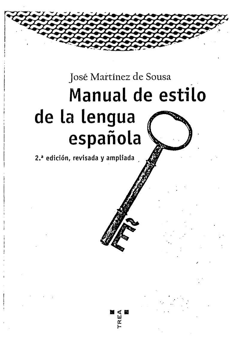 Manual de estilo_de_la_lengua_espanola