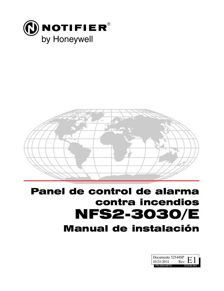 Manual de instalacion nfs2 3030 e (52544sp)