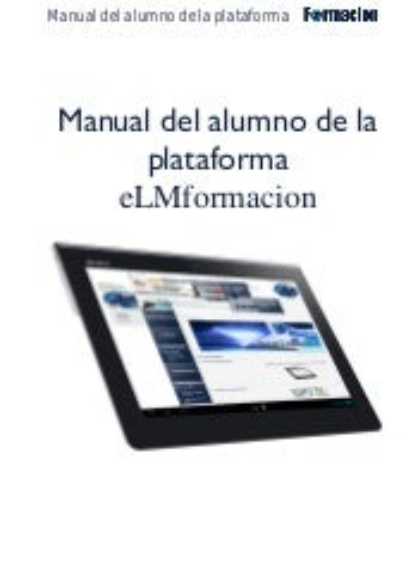 Manual del alumno eLMformacion