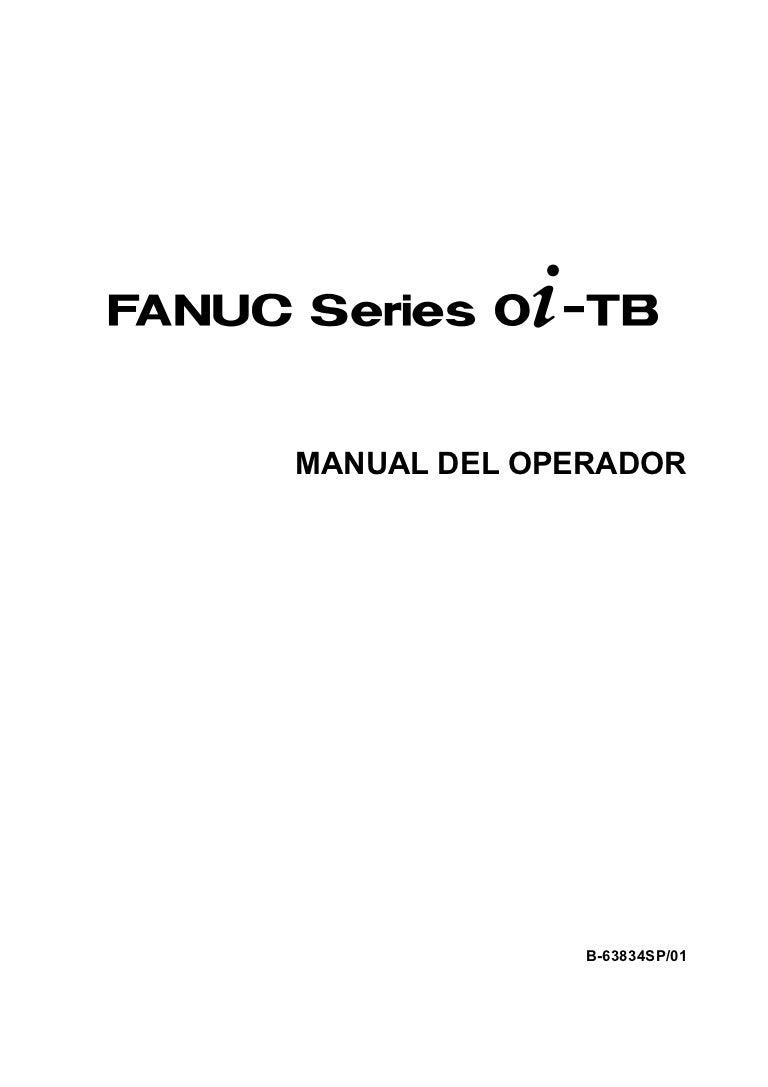 Manual del operador torno cnc fanuc oi tb