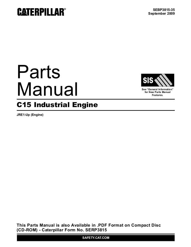 Manual de Partes - Motor C15 ACERT - www.oroscocat.comSlideshare