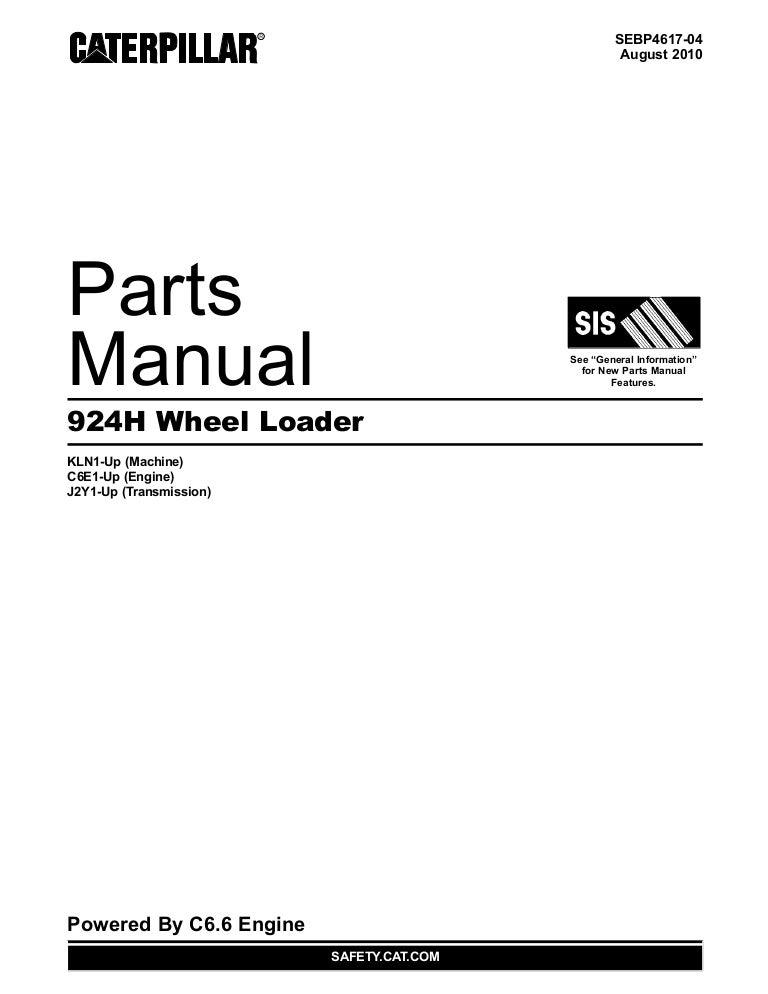 manual de partes del cargador de ruedas 924h www oroscocat com
