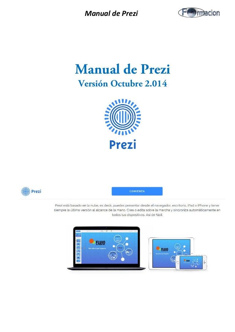Manual de prezi (octubre 2.014)