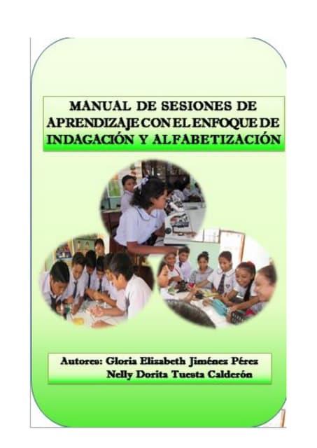 Manual de sesiones de aprendizaje con el enfoque de indagacion