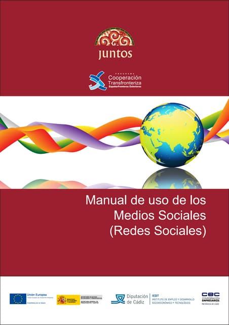 Manual de uso de los medios sociales