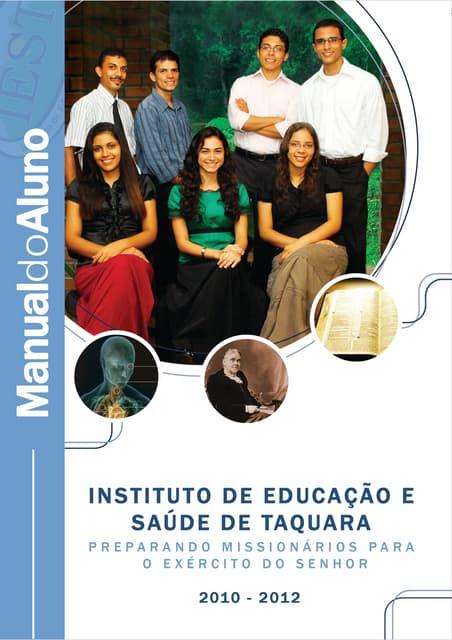 Manual do aluno - IEST