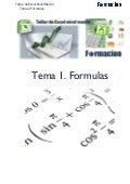 Manual Excel medio  -   Formulas