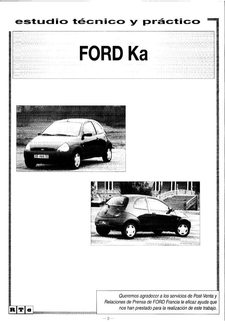 manual ford ka 98 rh slideshare net ford ka service manual pdf free download ford fiesta 2003 service manual