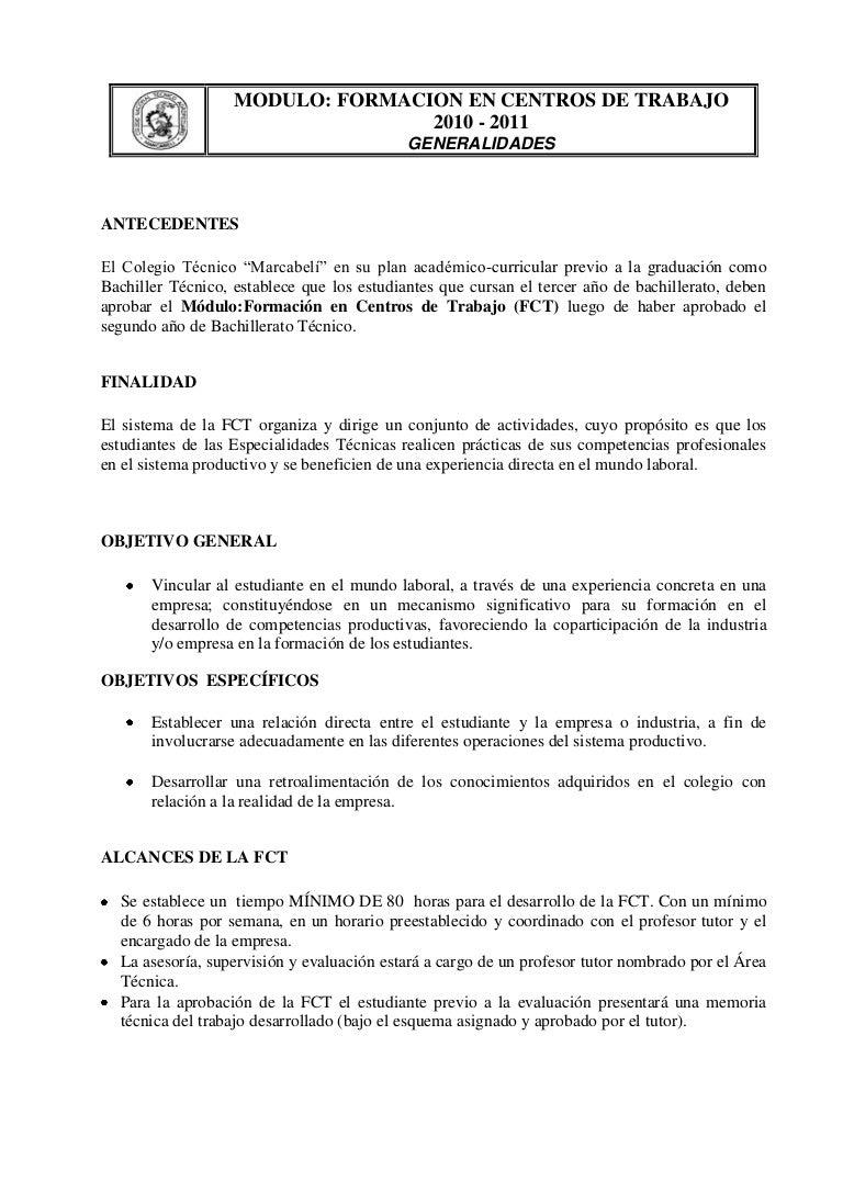 Manual formación de centros de trabajo
