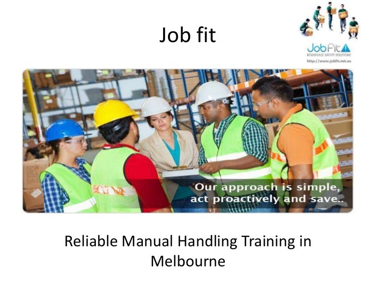 Manual Handling Risk Assessment  Jobfit