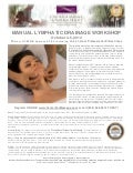 Manual Lymphatic Drainage Massage CE Workshop