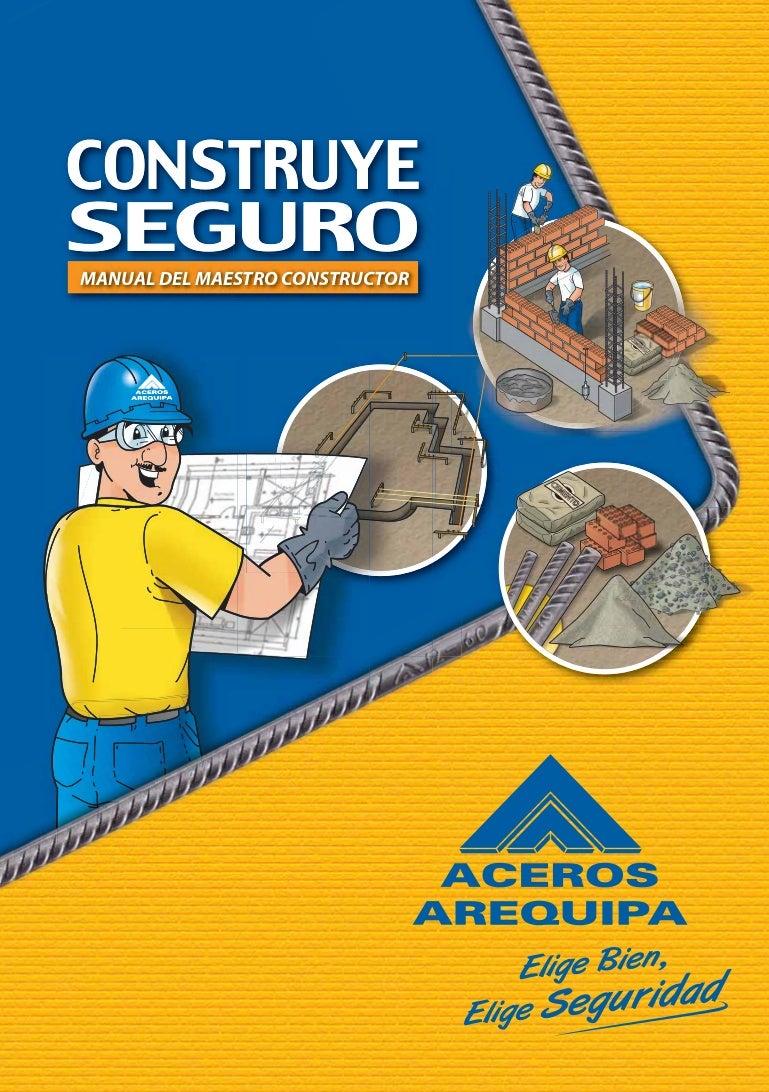 Manual maestro construcor for Manual de construccion de albercas pdf