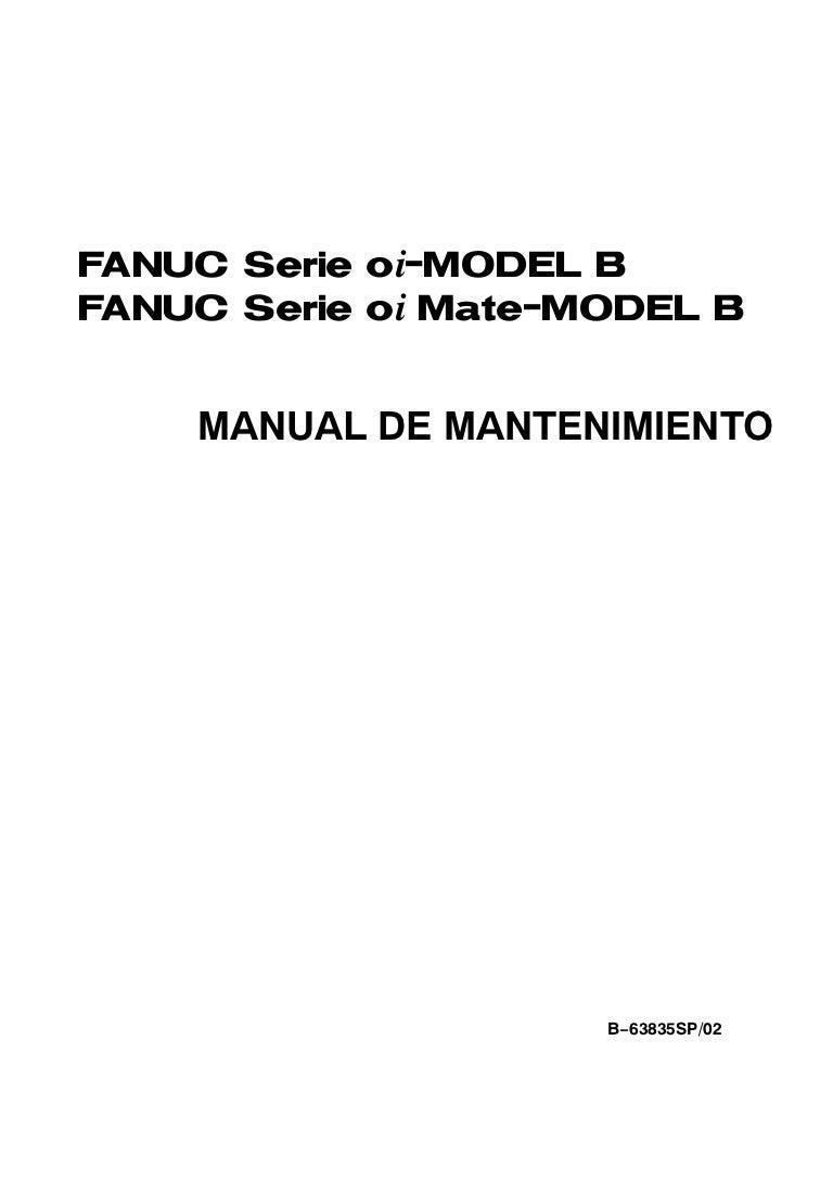 Manual mantenimiento fanuc oi b