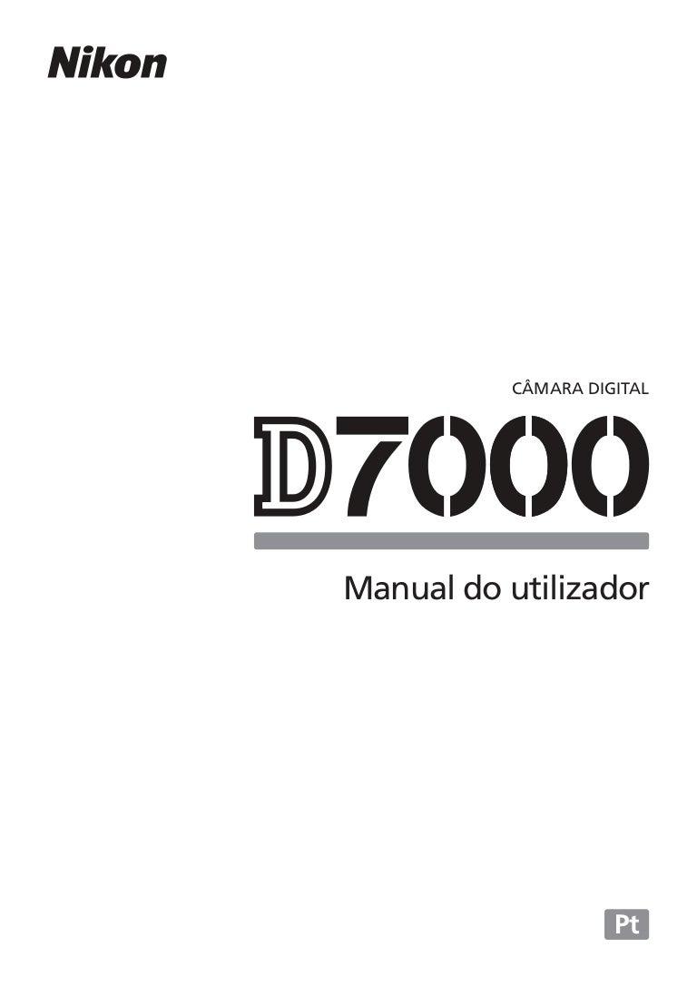 Manual Nikon D7000 em Português