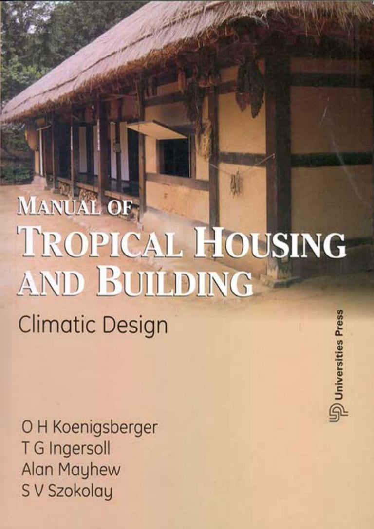 manual of tropical housing-koenigsberger