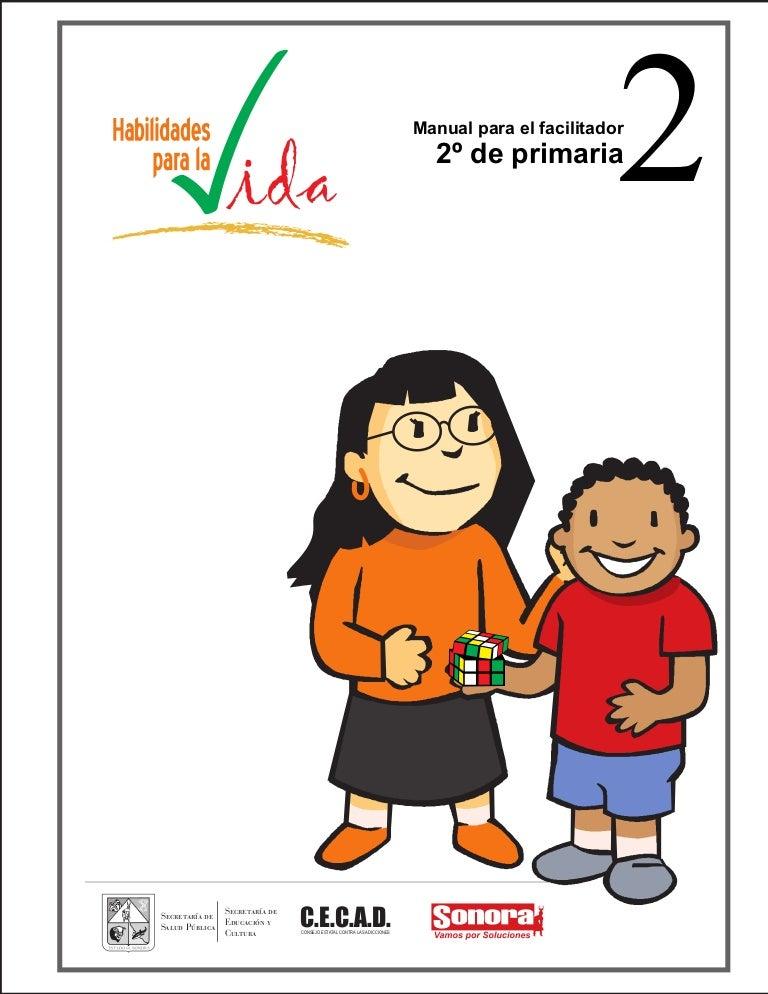 MANUAL PARA EL FACILITADOR 2º DE PRIMARIA