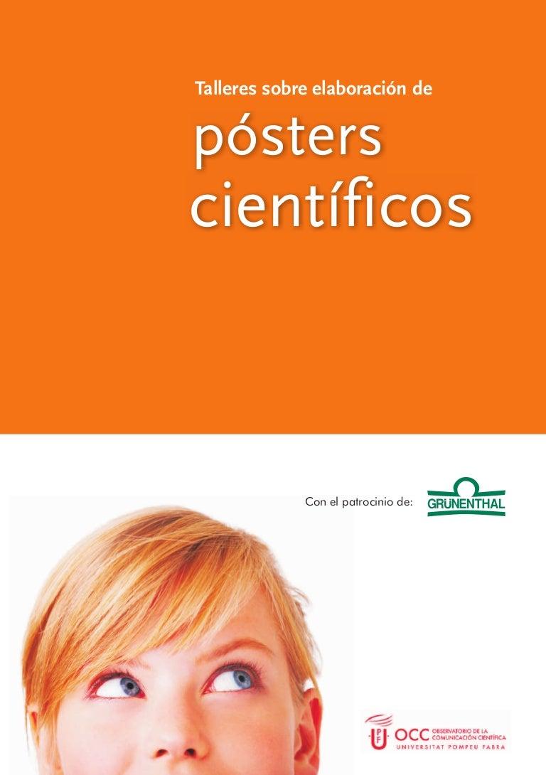 Manual para realizar poster científicos