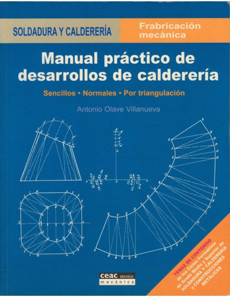Manual Prático De Desarrollos De Calderería