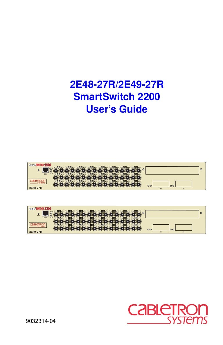 Manual Smart Switch 2200 Crossover Cable Utilizes Two Different Rj45 Pinouts For The Ends
