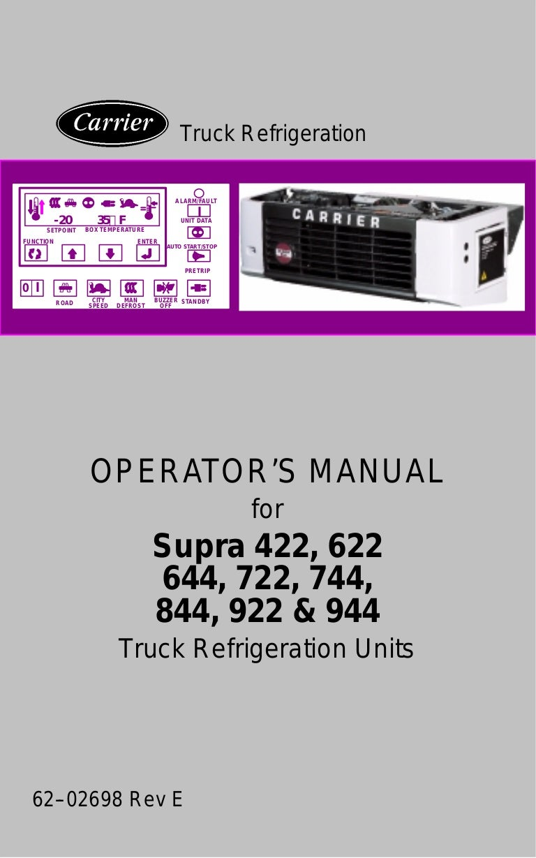 Manual Supra Carrier Pump Down Refrigeration Wiring Diagram Manualsupracarrier 161212215220 Thumbnail 4cb1481579673