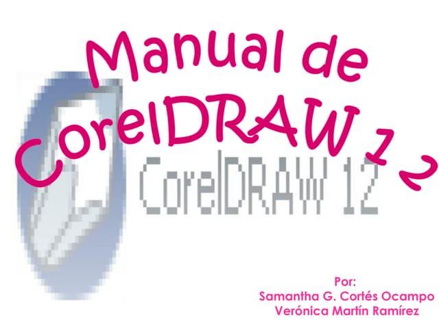 Manual de CorelDraw Veronica Y Samantha