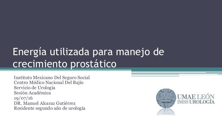 terapia de microondas de próstata para la HPB