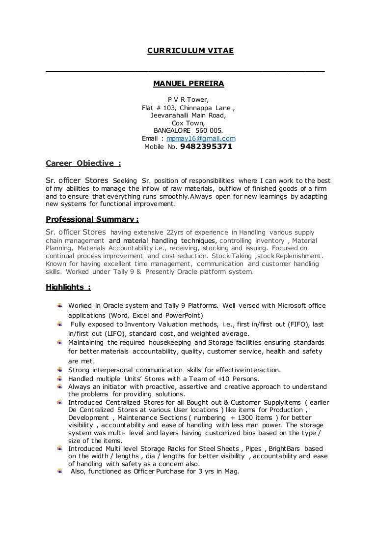 manuel s resume