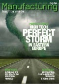 Manufacturing Digital Magazine   High Tech Industry Perfect Storm Cover
