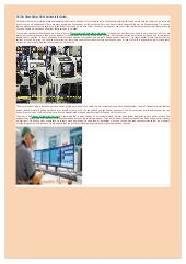 Process Automation Software and Manufacturing Equipment
