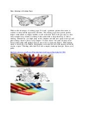 Many advantages of coloring pages eknazar
