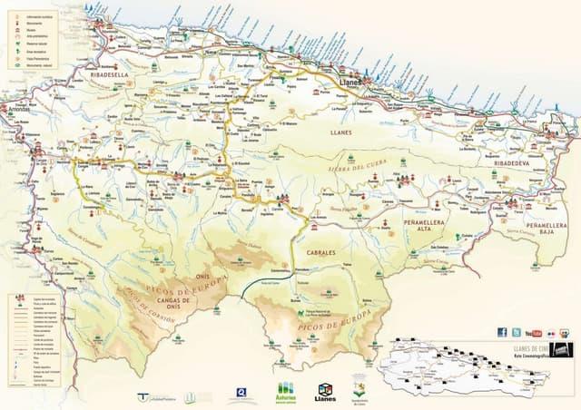 Folleto de la ruta el camin encantau valle de ardisana for Oficina turismo llanes