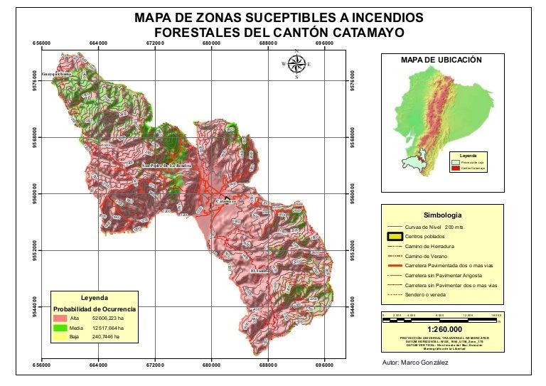 Mapa De Incendios Forestales