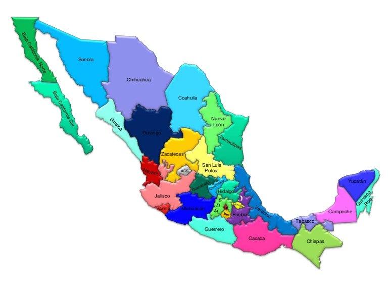 Mapa De Mexico - Mapa de mexico