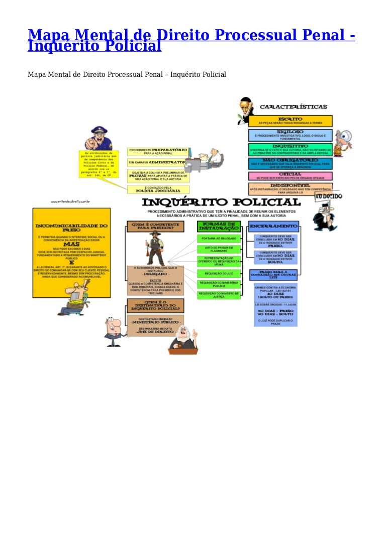 mapas mentais area policial