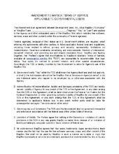 MapBox Terms of Service (TOS) Amendment