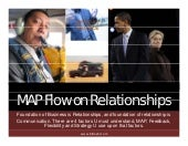 Map flow on interpersonal relationships