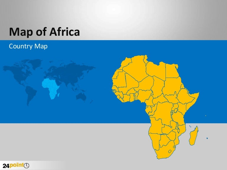 powerpoint africa map template gallery powerpoint