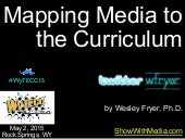 Mapping Media to the Curriculum (May 2015)
