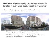 Mapping Visual Perceptions using Google Street View