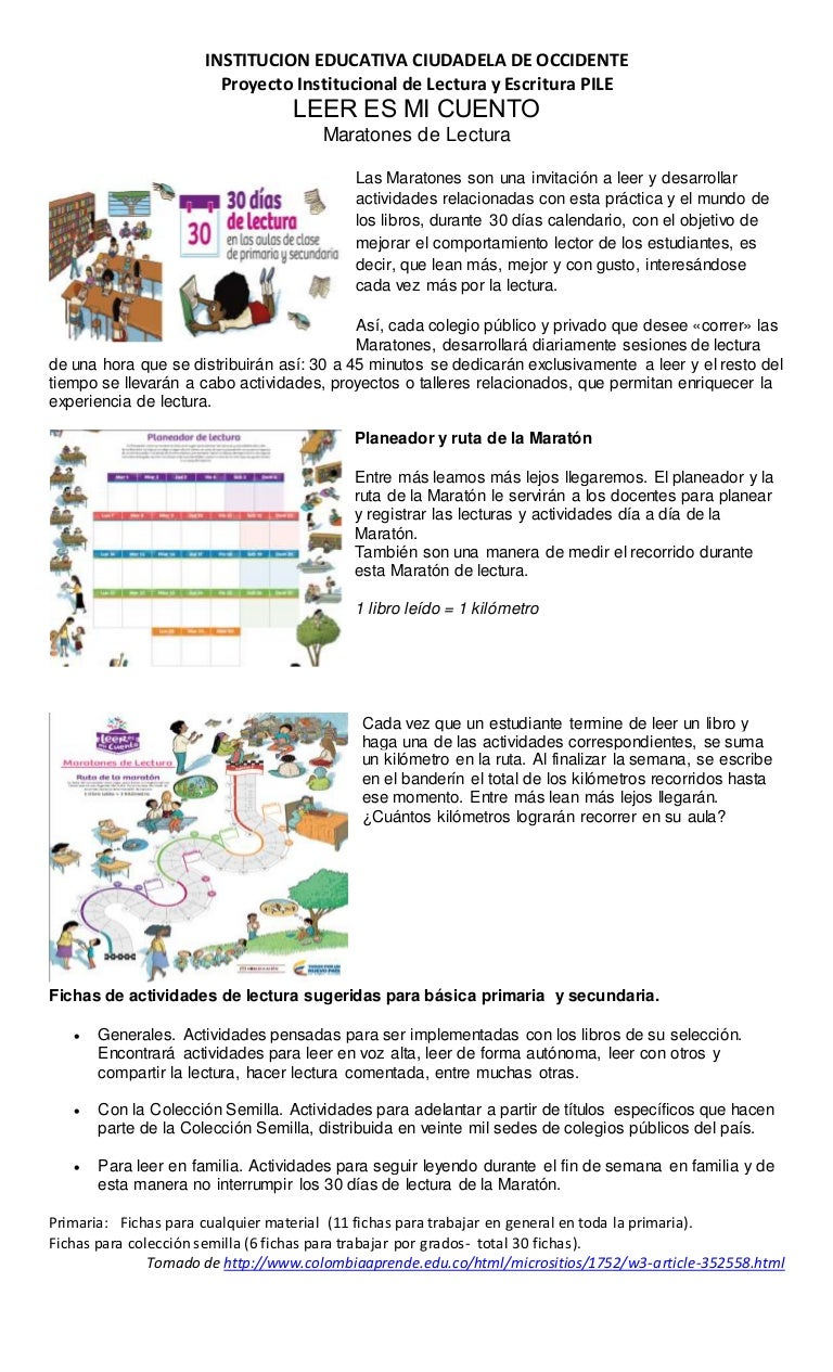 Guía de la Maratón de lectura 2011