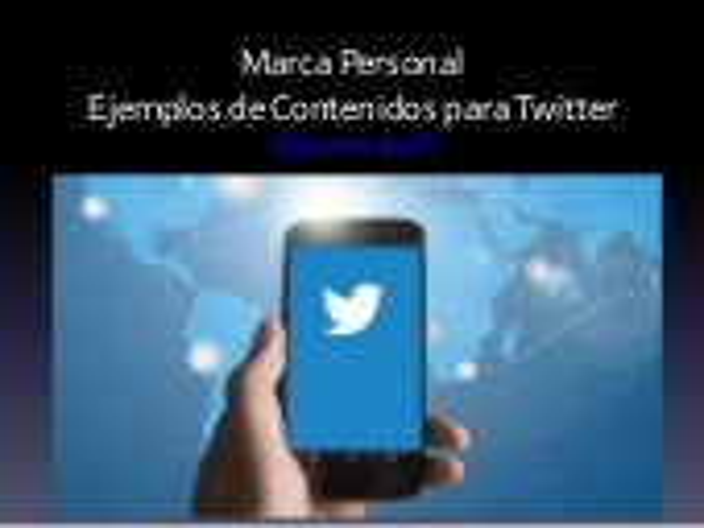 La marca personal del periodista, en Twitter