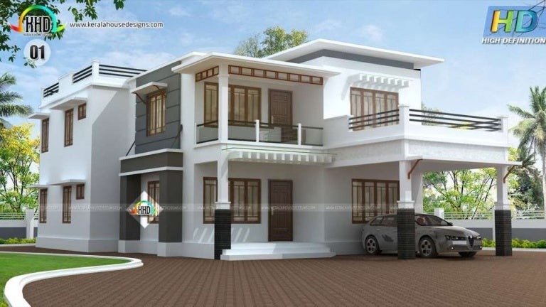 New Home Designs Latest Beautiful Latest Modern Home: New House Plans For April 2016