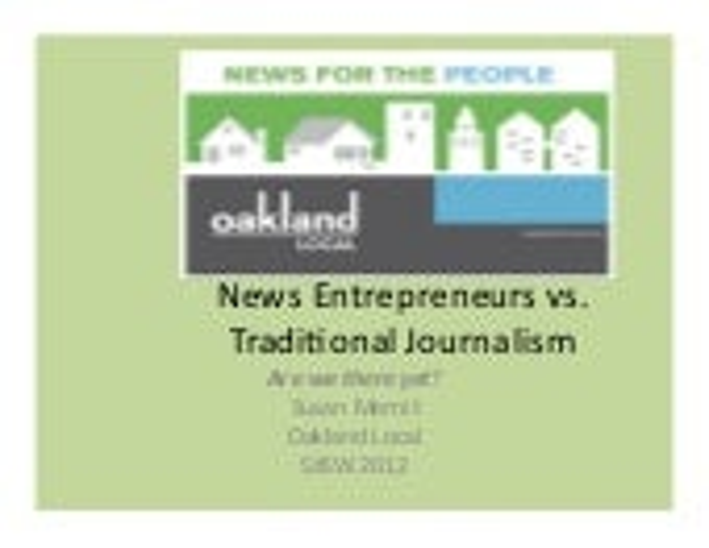 March 13 sxsw news entrepreneurs vs trad journalists