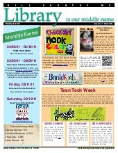 March 2011 newsletter hcms