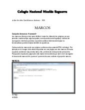 Marcos HTML