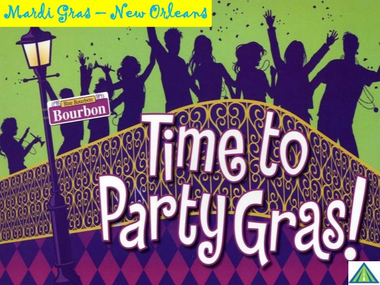 new orleans mardi gras festival, Powerpoint templates