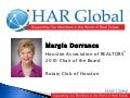 HAR Chair Margie Dorrance Presents to Rotary Club of Houston
