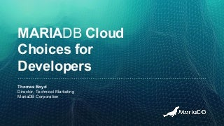 Getting started in the cloud for developers