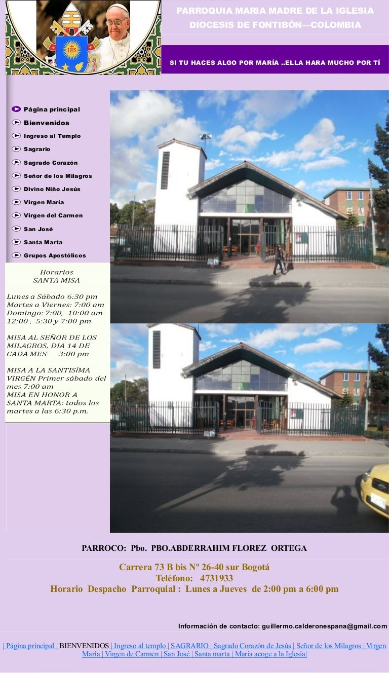 Parroquia Maria madre iglesia kennedy