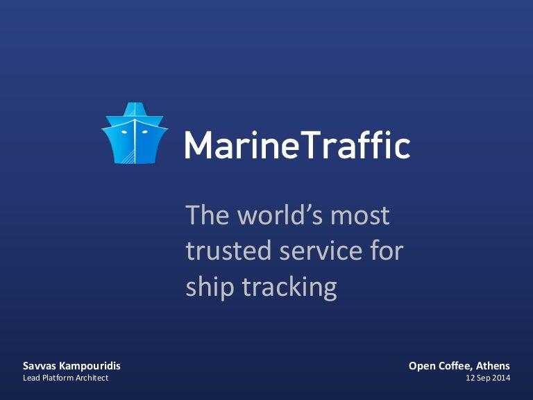 Marine Traffic By Savvas Kampouridis